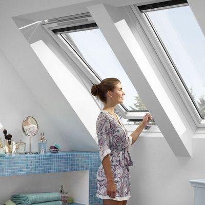 Мансардное окно однокамерное Velux Оптима ПВХ