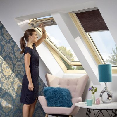 Мансардное окно двухкамерное Velux Оптима