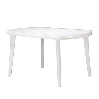 Пластиковый стол Elise Jardin, белый
