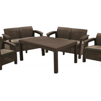 Комплект мебели Corfu Fiesta (Корфу Фиеста), коричневый