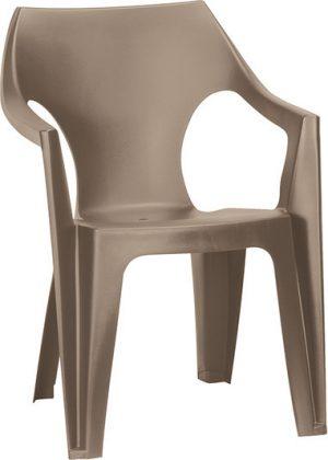 Пластиковый стул Dante Low Back капучино