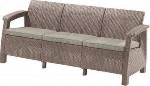 Скамья трехместная CORFU II MAX LOVE SEAT -CAPCNO-STD