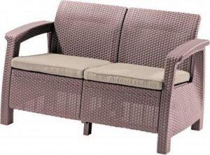 Скамья двухместная CORFU II  LOVE SEAT -CAPCNO-STD