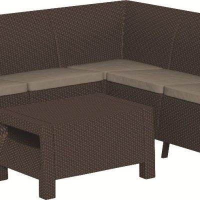 Комплект мебели Corfu Relax Set (Корфу Релакс), коричневый