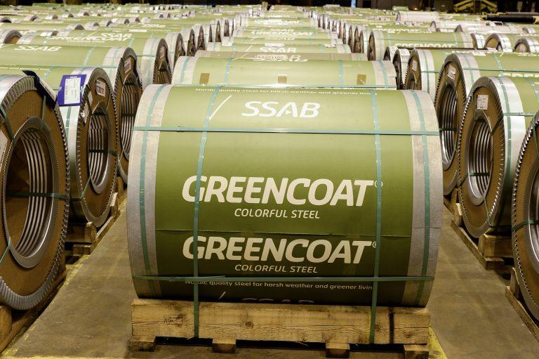 Инфириус – официальный поставщик SSAB Greencoat
